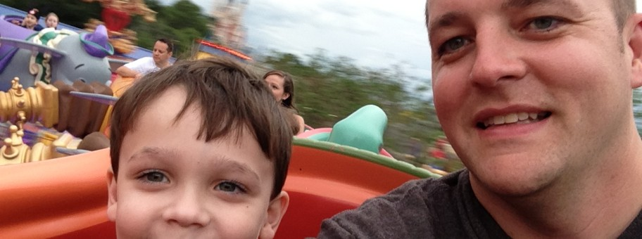 Father and Son on Dumbo